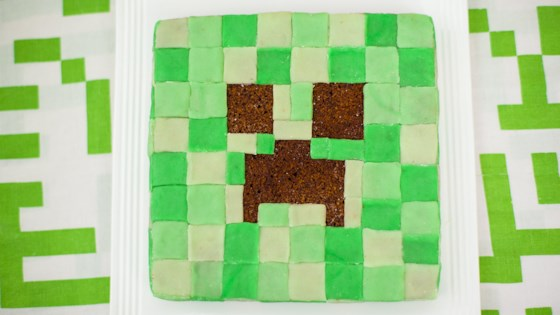 Photo of Mine Craft Creeper Cake by Magda