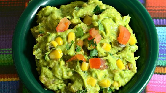 Photo of Guacamole with Corn by Ana Maria Gonzalez