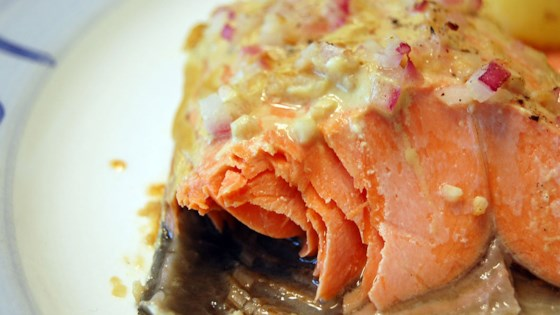 Photo of Dijon Garlic Salmon by Randy Fortel