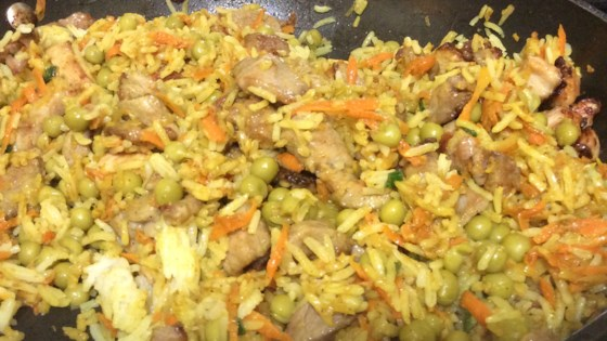 Photo of Chinese Pork Fried Rice by Dandan De