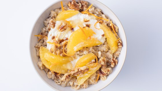 Photo of Citrus-Ricotta Oats by Quaker®