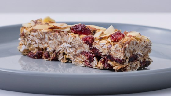 Photo of Cranberry-Almond-Flax Oat Bars by Quaker®