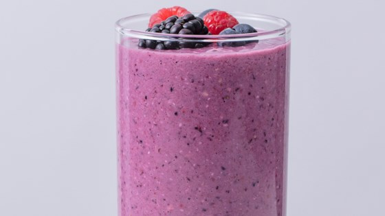 Photo of Ginger-Berry Oat Smoothie by Quaker®