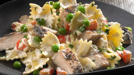 Photo of Johnsonville Flame Grilled Lemon Chicken Pasta by From the Kitchen at Johnsonville Sausage
