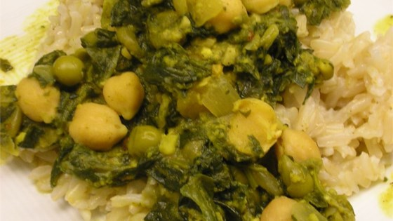 Photo of Chole Saag by Kristin Turrell