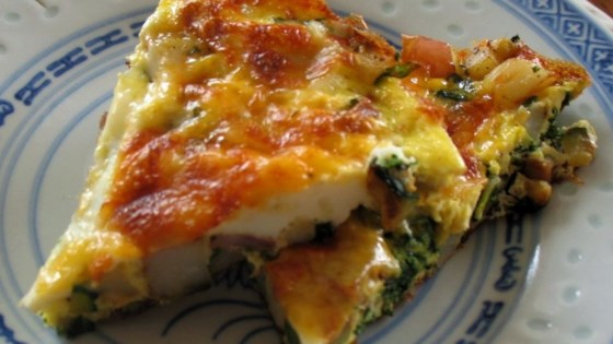 Photo of Spinach and Potato Frittata by CHERYL H.