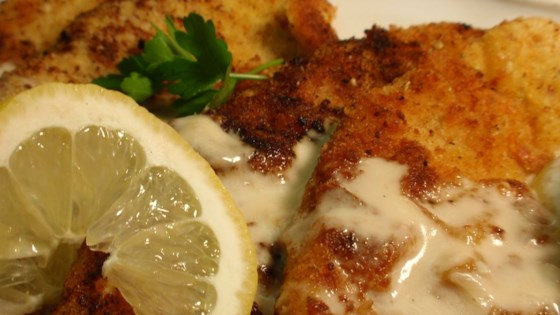 Photo of Veal Scaloppini with Lemon Cream Sauce by tlthompson