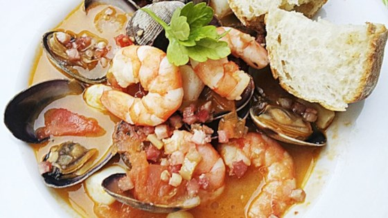 Photo of Zuppa di Pesce e Frutti di Mare (Mediterranean Seafood Soup) by Giulia