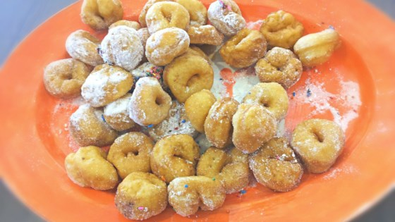 Photo of Tortelli di Carnevale (Italian Carnevale Doughnuts) by Giulia