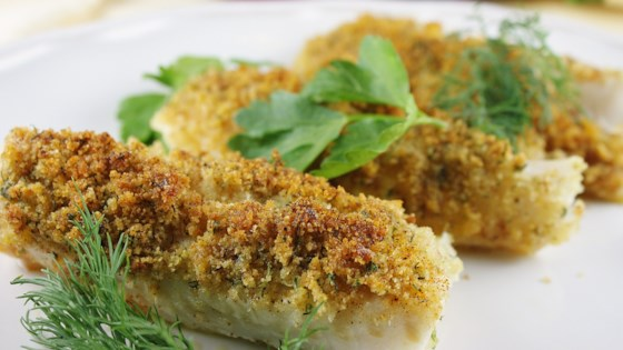 Photo of Cod with Italian Crumb Topping by dakota kelly