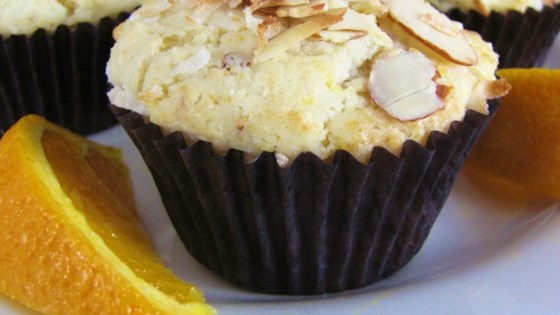 Photo of Golden Coconut Almond Muffins by WhirledPeas