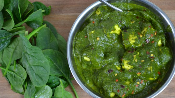 Photo of Palak Paneer Curry by Andreia