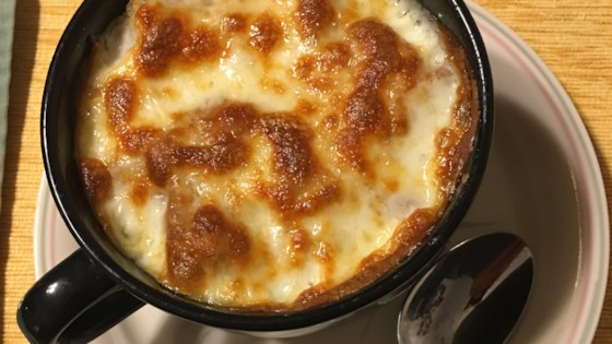Restaurant Style French Onion Soup Recipe Allrecipes Com
