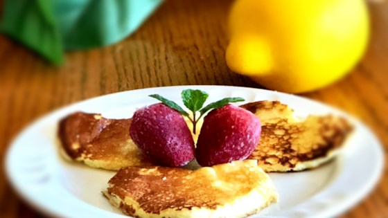Photo of Romantic Lemon Cheesecake Pancakes by fortuitous