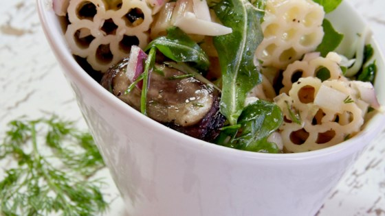 Photo of Gruyere and Mushroom Pasta Salad by jkoltov