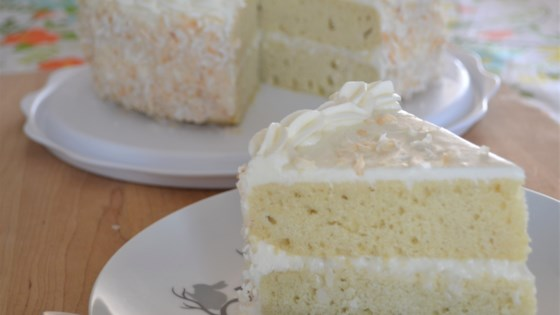 Photo of Fresh Coconut Layer Cake by Holly