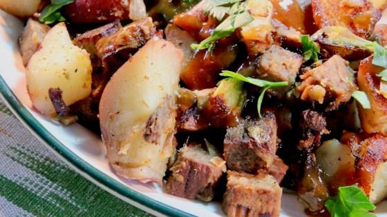 Leftover Roast Beef Hash