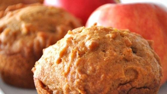 Photo of Pumpkin Apple Streusel Muffins by JES55