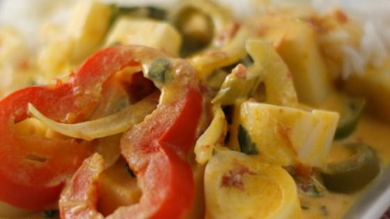 Moqueca de Palmito (Vegan Brazilian Stew with Hearts of Palm)
