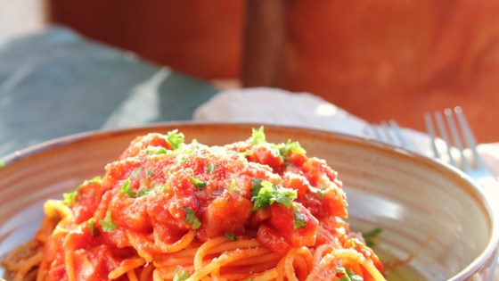 Photo of Spaghetti Al Amatraciana by JODIV