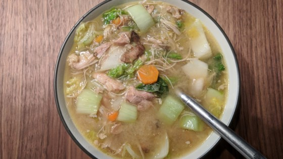Chicken and Veggie Miso Soup (Instant Pot® Version) Recipe