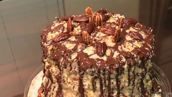 Photo of German Sweet Chocolate Cake II by MARY ANN PUTMAN