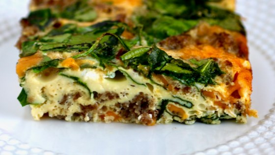 Spinach, Sausage, and Egg Casserole Recipe