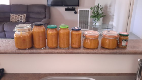 Photo of Betty's Green Tomato Chutney by Sian Kathryn Cross