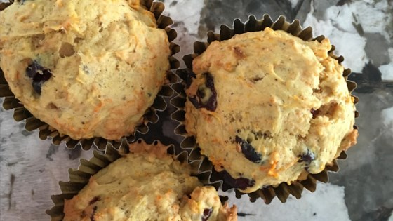 Photo of Carrot and Cranberry Muffins by briatherese