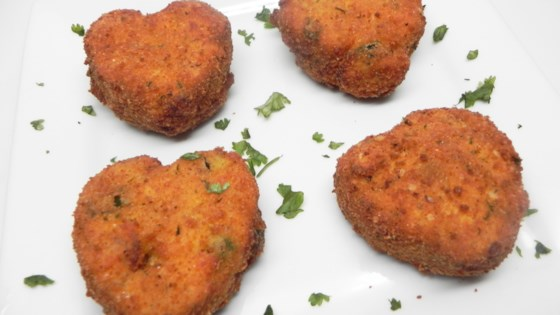 Photo of Chicken Cakes  by ohwhatamess