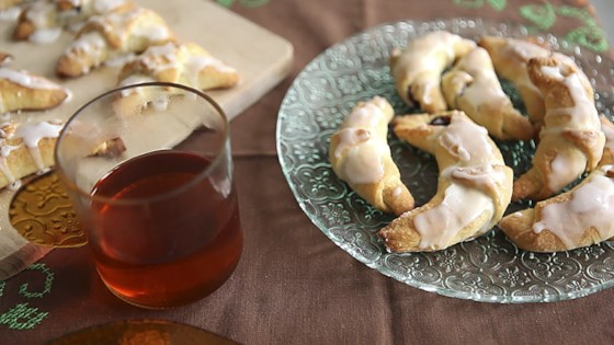 Photo of Rogaliki (Polish Jam-Filled Crescents) by Jola