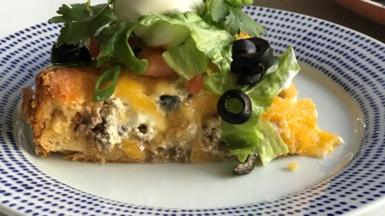 Quick Crescent Taco Pie