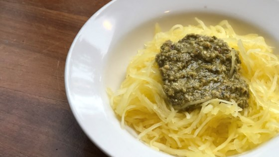 Photo of Instant Pot® Vegan Spaghetti Squash with Pesto by Fioa