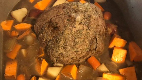 Stovetop Yankee Pot Roast
