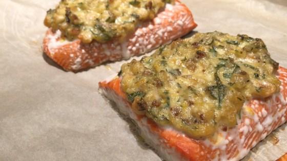 Photo of Hazelnut-Crusted Salmon by LINDASUE52