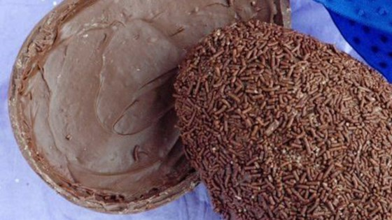Photo of Brazilian Brigadeiro-Filled Chocolate Easter Egg by Rita