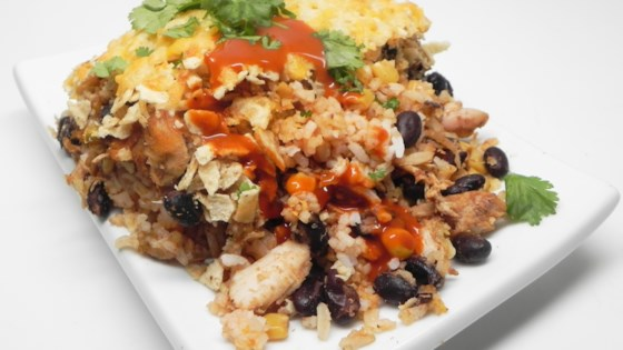 Mexican Casserole with Leftover Turkey