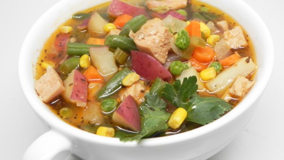 Photo of Turkey Vegetable Soup with Red Potatoes by ChiefChef