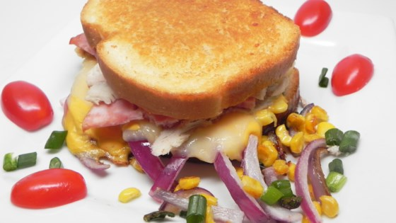 Photo of Twisted Ham and Turkey Grilled Cheese by Kristin Licavoli