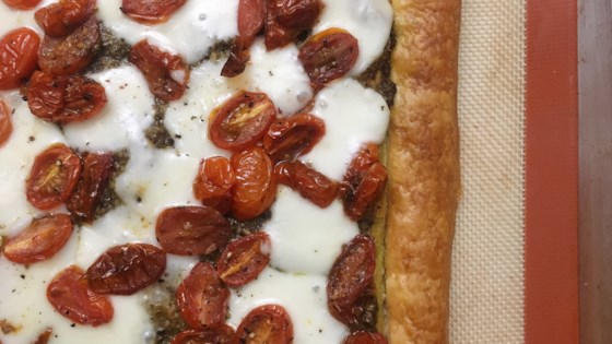 Photo of Caprese Puff Pastry Tart by LauraF