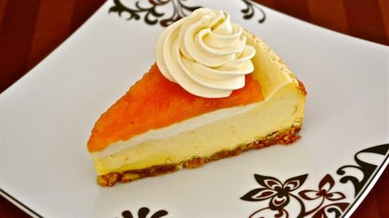 Photo of Apricot Cheesecake by Linda M. Malek