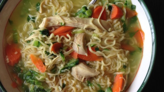 Angela's Oriental Chicken Noodle Soup
