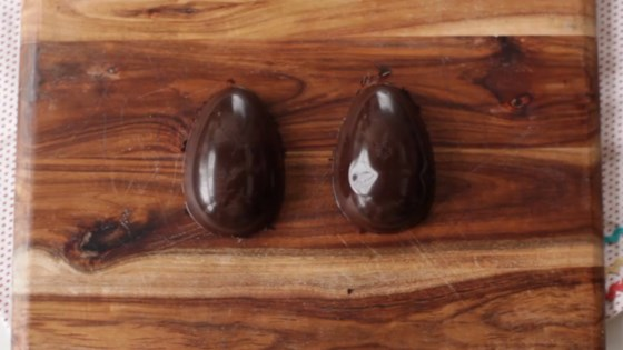 Photo of Easter Chocolate Eggs Made with a Mold by liz