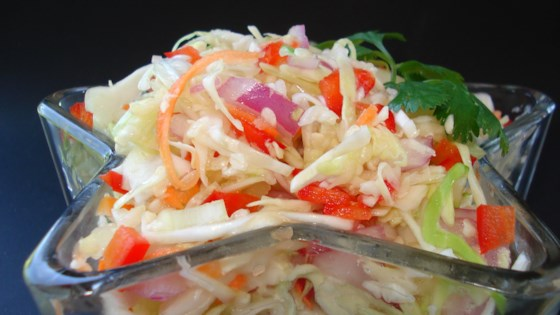 Angie's Dad's Best Cabbage Coleslaw Recipe