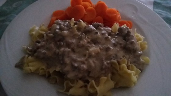 One-Pot Hamburger Stroganoff