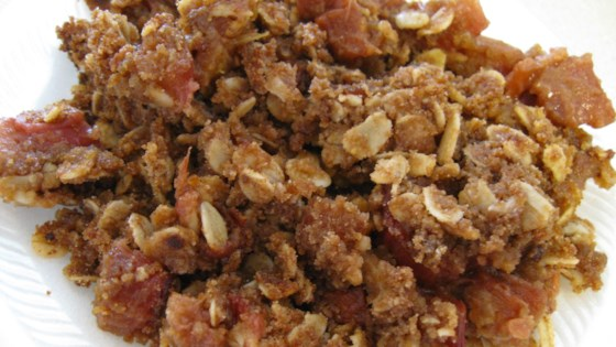 Photo of Rhubarb Breakfast Oatmeal by halfnotes