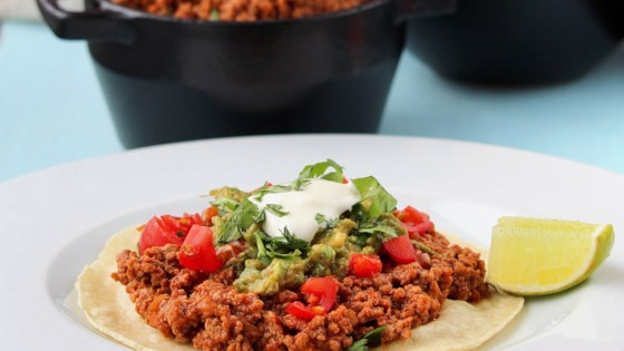 Photo of Cameron's Ground Turkey Salsa Ranchera for Tacos and Burritos by bd.weld