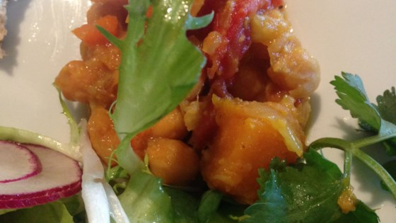 Vegan Butternut Squash and Chickpea Curry