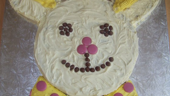 Photo of Bunny Cake with Round Cake Pans by liz