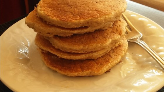 Photo of Dairy-Free Oatmeal Cookie Pancakes by Biondini